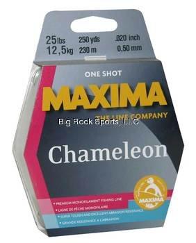 Maxima One Shot Spool (10-Pound Test ), Chameleon, 220-Yard