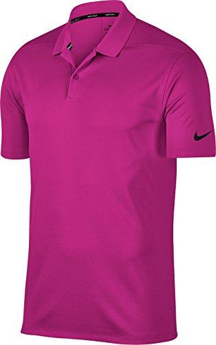 Victory Golf Dry Hyper Shirt Magenta Polo Solid NIKE Men's Black SEFxwqXnU