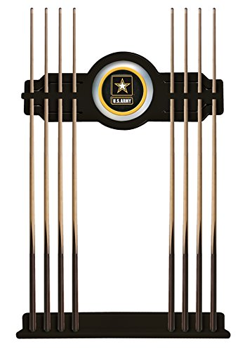 - Holland Bar Stool Co. U.S. Army Cue Rack in Black Finish