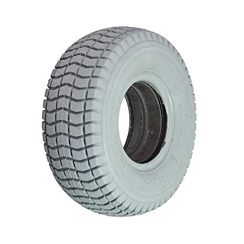 - AlveyTech 9x3.50-4 Foam Filled Mobility Tire with C203 Grande Knobby Tread
