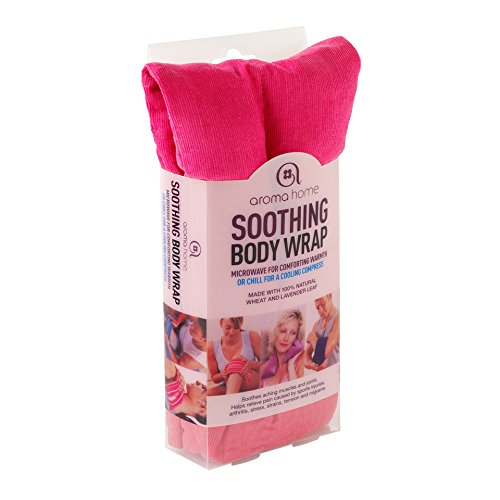 Bw1 Body (Aroma Home Hot and Cold Soothing Body Wrap Pink by Aroma Home)