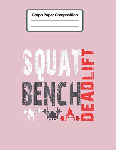 Graph Paper Composition: Powerlifting Squat Bench Deadlift Weightlifting Wedding Planner Note Journal Funny Bride Broom Blank Graph Papper Compostion ... Kawaii Lovely for Learning Creative Drawing (Power Composition For Photography)