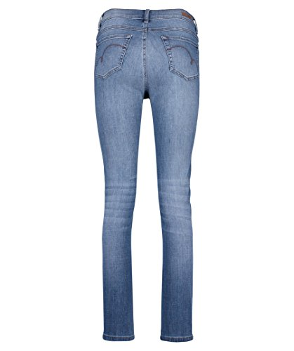 Jeans Femme Bleu Old Used Washed Angels ZSqagcOS