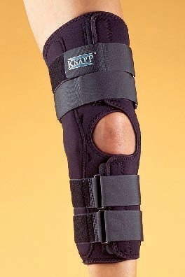 """c7452a9022 Image Unavailable. Image not available for. Color: Hely-Weber KUHL Knapp  Hinged Knee Brace 16"""" Anterior Closure ..."""