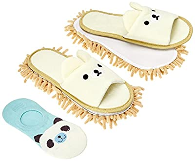 Selric Super Chenille Microfiber Washable Mop Slippers Shoes, Multi-Sizes Multi-Colors Available ¡­