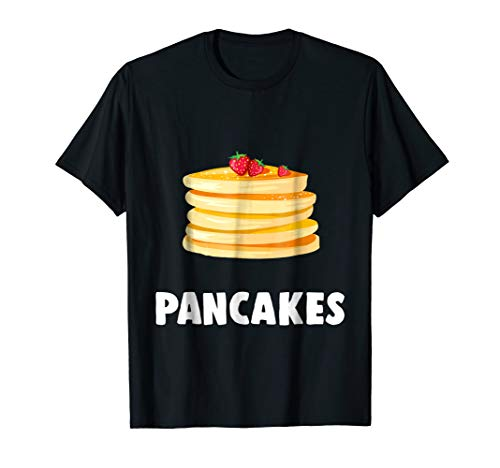 Couple Matching Halloween Costumes Pancakes T-Shirt for $<!--$16.99-->