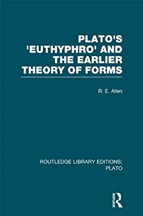 an analysis of platos theory of the forms The analysis of knowledge concerns the attempt to articulate in what according to a certain form of knowledge theory of knowledge, 3 rd edition.