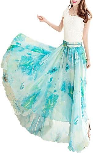 Chiffon skirts long _image3