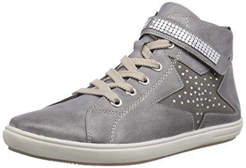 fille Rieker Argento K3080 Staub Gris Hautes 40 Sneakers Grey qP7Pt
