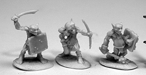 Reaper Miniatures 77445 Goblin Skirmishers, Bones Miniature