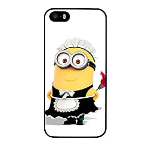 FUNDA CARCASA PARA APPLE IPHONE 5 5S DISEÑO MINION PLUMERO MOD.2