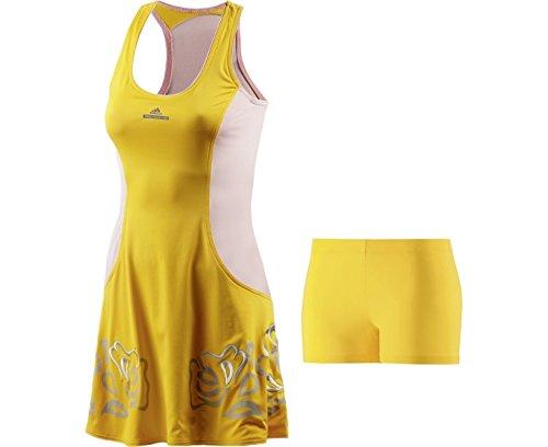 adidas oberbekleidung Caroline Wozniacki by Stella McCartney Barricade Dress Roland Garros Amarillo - amarillo