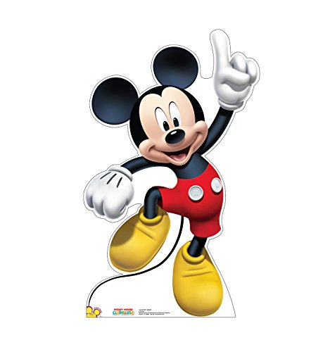 Mickey Mouse Cardboard Cutout (Advanced Graphics Mickey Dance Life Size Cardboard Cutout Standup - Disney's Mickey Mouse)