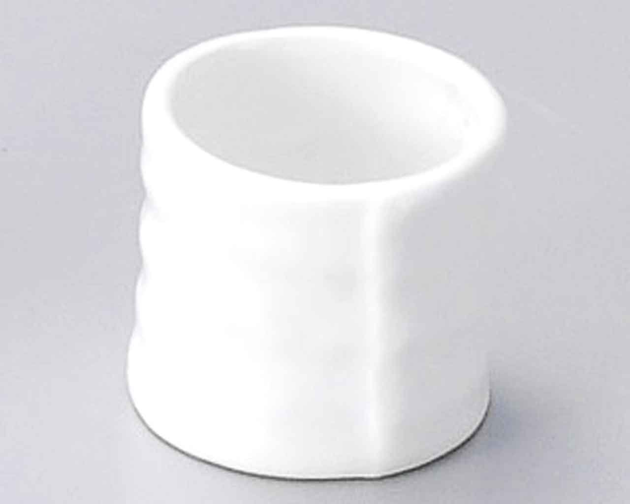 Hakuji 1.8inch Set of 5 Toothpick holders White porcelain Made in Japan by Watou.asia