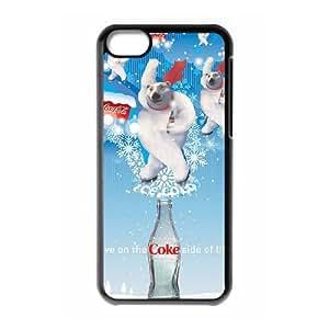 Coca Cola 003 iPhone 5c Cell Phone Case Black PSOC6002625632301