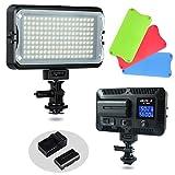 Best Dimmable For DSLR Cameras - VILTROX VL-162T CRI95+ LED Video Light, Portable Camera Review