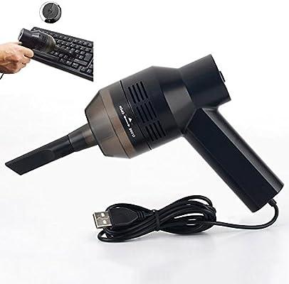 XGLL Aspirador Recargable Portátil USB Mini Limpiador De Escritorio Barredora, Herramienta Limpiadora Portátil Inalámbrica para El Kit De Limpieza del Teclado De La Computadora del Coche En El Hogar: Amazon.es: Hogar