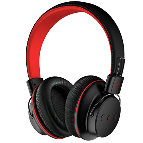 Large Product Image of Mpow Bluetooth Headphones Over Ear Lightweight, Comfortable for Long-time Wearing, Hi-Fi Stereo Wireless Headphones, Foldable Headset w/Built-in Mic and Wired Mode for PC/Cell Phones