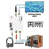 Digital to Analog Audio Decoder by OREI, Convert