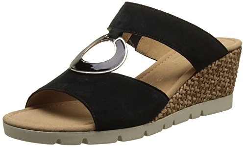 Donna Pantofole Comfort Grata Nero Schwarz Gabor wYEqTgZ