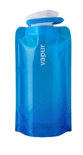 Vapur Shades- Botella reutilizable de plástico, para agua- azul, 0,5 litros: Amazon.es: Deportes y aire libre