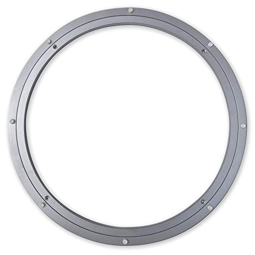 (Medium-Duty (MD) Aluminum Lazy Susan Ring/Turntable with Single-Row Ball Bearings for Medium Loads, 20-Inch)