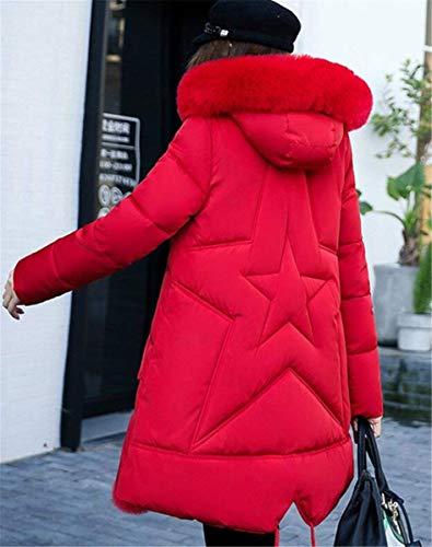 Largos Elegantes Con Grandes Abrigos Mujer Casuales Transición 8qW4g4SBw