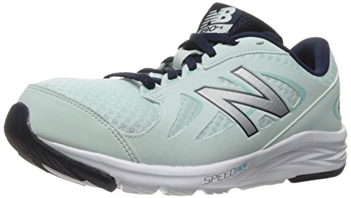 Free New Balance Women's 490v4 Running Shoe, Droplet/Silver, 8 D US