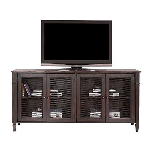 (72 in. TV Stand in Two Tone Aged Clove Finish )