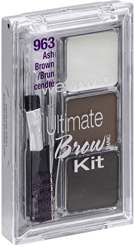 Wet n Wild Ultimate Brow Kit, Ash Brown 963 , 1 ea Pack of 12