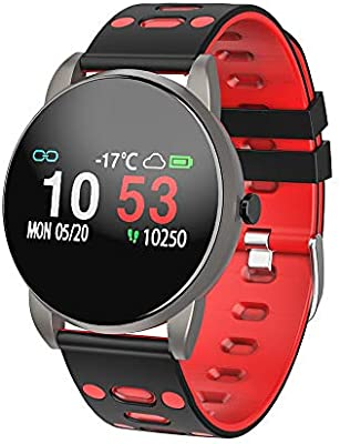 Reloj Inteligente, Smartwatch con Pulsómetro Pulsera Actividad Blood Pressure Multifuncion Color Monitor Reloj Deportivo Monitor de Sueño Hombre Mujer ...