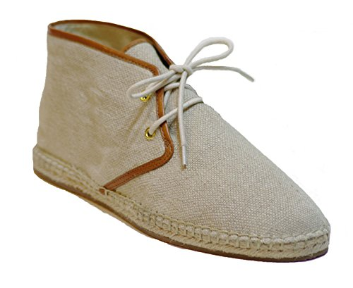 Michael Michael Kors Womans Del Rey Bootie Natural Linen/Leather PjEU7