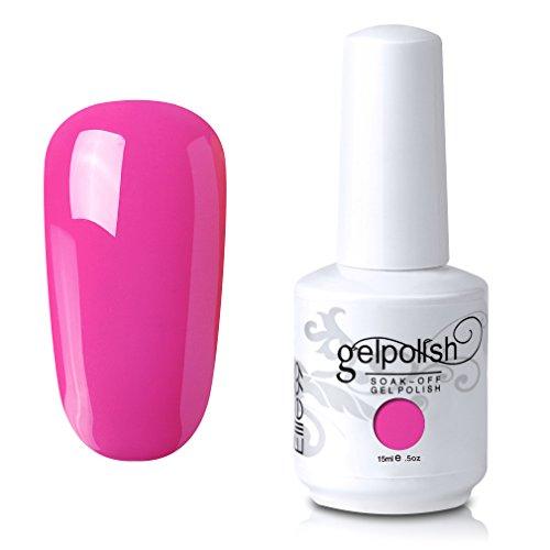 elite99-soak-off-uv-led-gel-polish-nail-art-manicure-lacquer-hot-pink-022-15ml