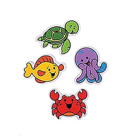Under the Sea Erasers (24 Pieces) - Fish Eraser