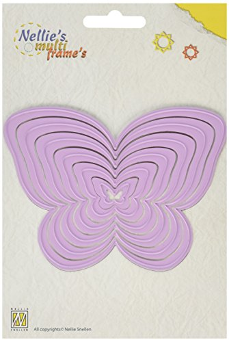 (Nellie's Choice Multi Frame Cutting Die, Butterfly)