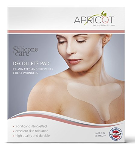 NEW on Amazon Kanada! BESTSELLER in Germany! Anti-Wrinkle Décolleté Pad to eliminate and prevent chest wrinkles! APRICOT GmbH 0700153410700