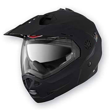 Caberg Tourmax - Casco de moto integral modular, color negro opaco M negro mate
