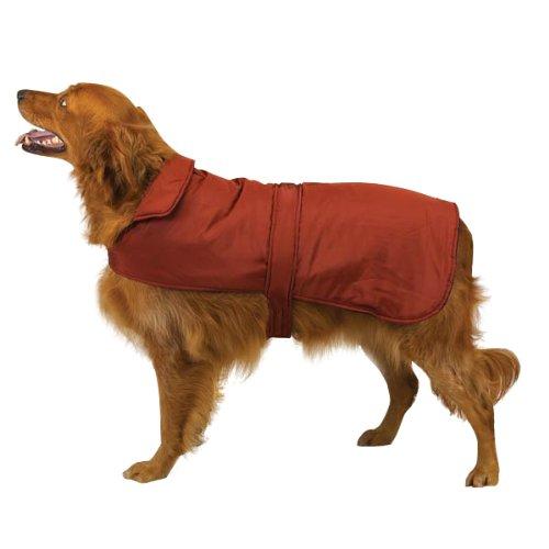 (Casual Canine Polyester Fleece Barn Dog Coat, X-Large, Barn Red)