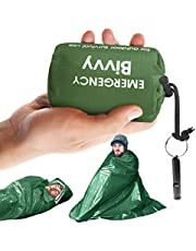 Emergency Bivvy Bag PE Aluminum Film for Outdoor Camping Survival Sleeping Bag