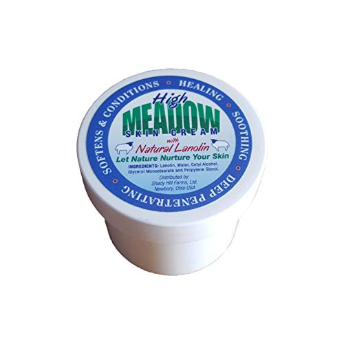 Meadow Cream - High Meadow Skin Cream with Natural Lanolin - (Unscented)