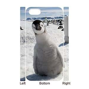 GGMMXO Penguin Shell Phone Case For Iphone 5s [Pattern-1]