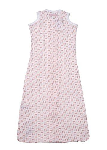 Lodger escandinavo impresión sin mangas - Saco de dormir para bebé (color rosa): Amazon.es: Bebé