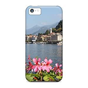 New Fashionable Oilpaintingcase88 Jqt29546skrV Covers Cases Specially Made For Iphone 5c(bellagio On Lake Como)