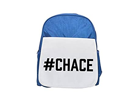 7f078d1e855a  CHACE printed kid s blue backpack