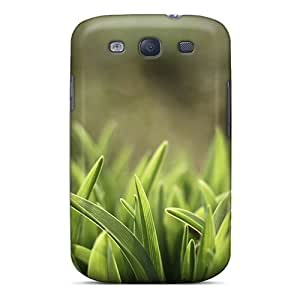 Galaxy S3 Case Cover - Slim Fit Tpu Protector Shock Absorbent Case (grass Field Resized4)