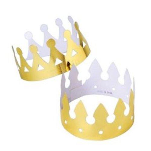 12 Foil Crowns