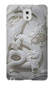 Wishing S0386 Dragon Carving Graphic Printed Case Cover for Samsung Galaxy Note 3
