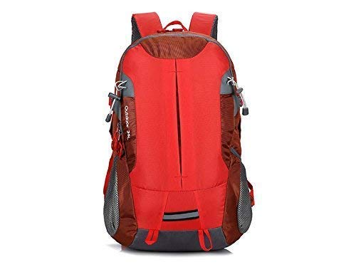 XINXI Home Outdoor e Indoor Sports Outdoor Climbing Backpack Escursionismo Borsa da Viaggio per Uomo Donna (Rossa) Zaino da Ciclismo