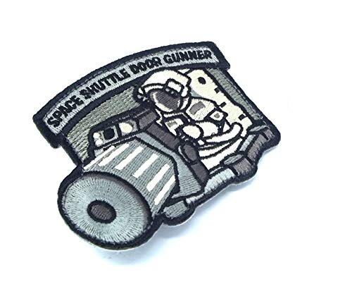 Shuttle Door Gunner Morale Patch (ACU (Foliage Green))