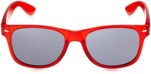 naranja de BRIGADA Frost Talla rojo talla Orange Lawless Gafas única Clear sol Red xffEwI7rq
